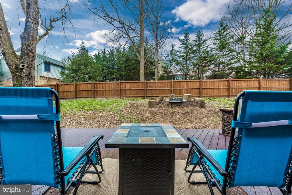 Backyard - 10204 LADOGA PL, NEW MARKET