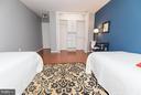 Generous closet with shelving - 2030 F ST NW #201, WASHINGTON