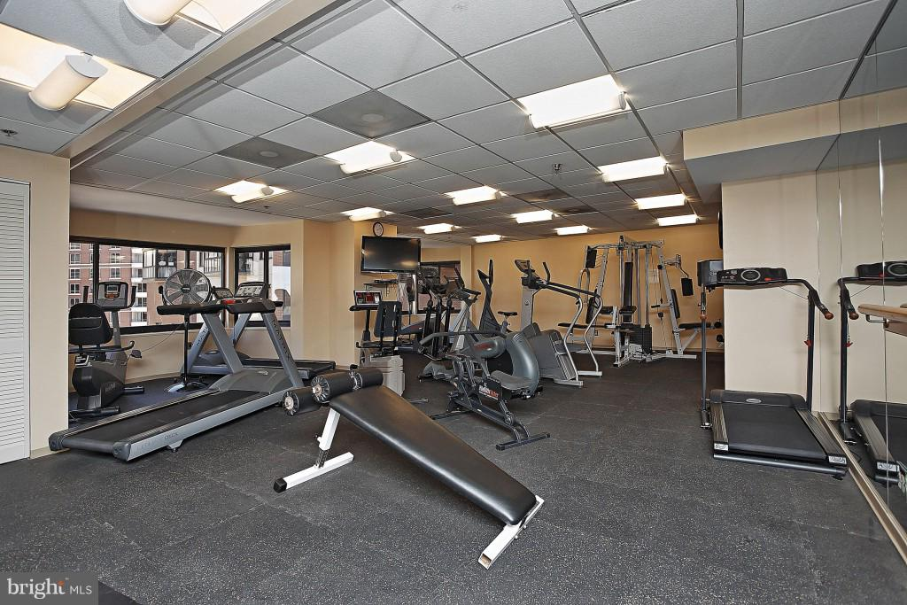Exercise room - 900 N STAFFORD ST #2620, ARLINGTON