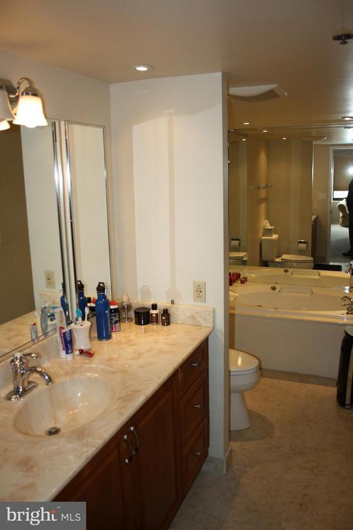 Master bath with separate tub and shower - 900 N STAFFORD ST #2620, ARLINGTON