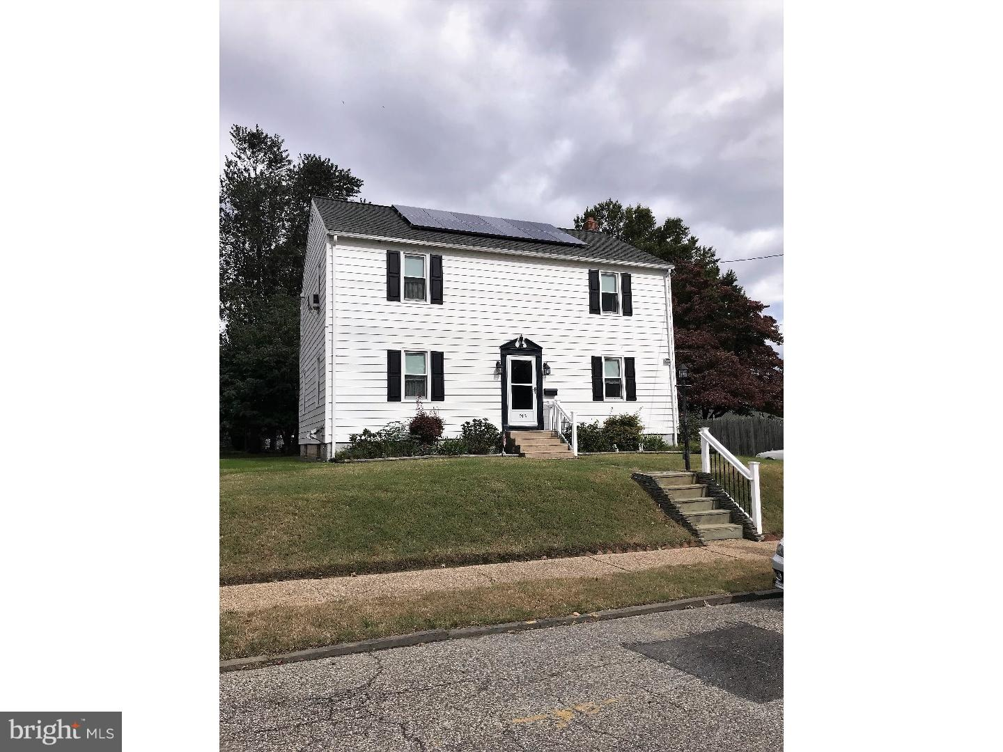 Single Family Home for Sale at 913 CHAMBERS Avenue Gloucester City, New Jersey 08030 United StatesMunicipality: Gloucester City