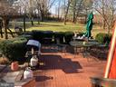 New Rear Patio - 1919 CASTLEMAN RD, BERRYVILLE