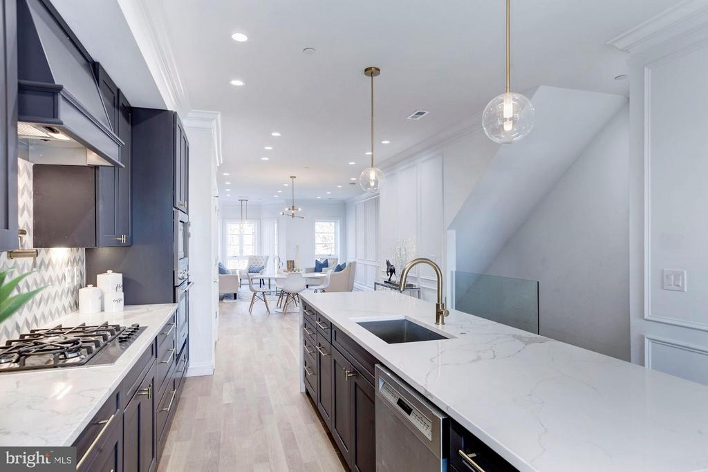 Each floor boast over 900 SF of Open Living Space - 2817 13TH ST NW #2, WASHINGTON