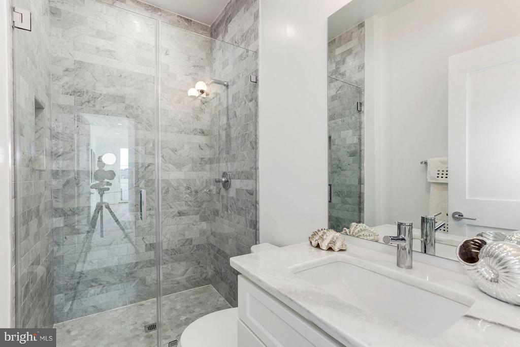 Second Marble Clad Full Bath - 2817 13TH ST NW #2, WASHINGTON