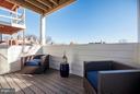 Balcony off Family Space - 2817 13TH ST NW #2, WASHINGTON