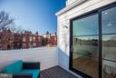 Large Sliders Create a Light-filled Space - 2817 13TH ST NW #2, WASHINGTON