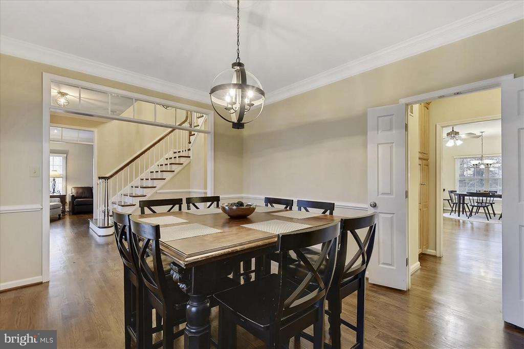 Main level Dining Room - 1501 DADE LN, ALEXANDRIA
