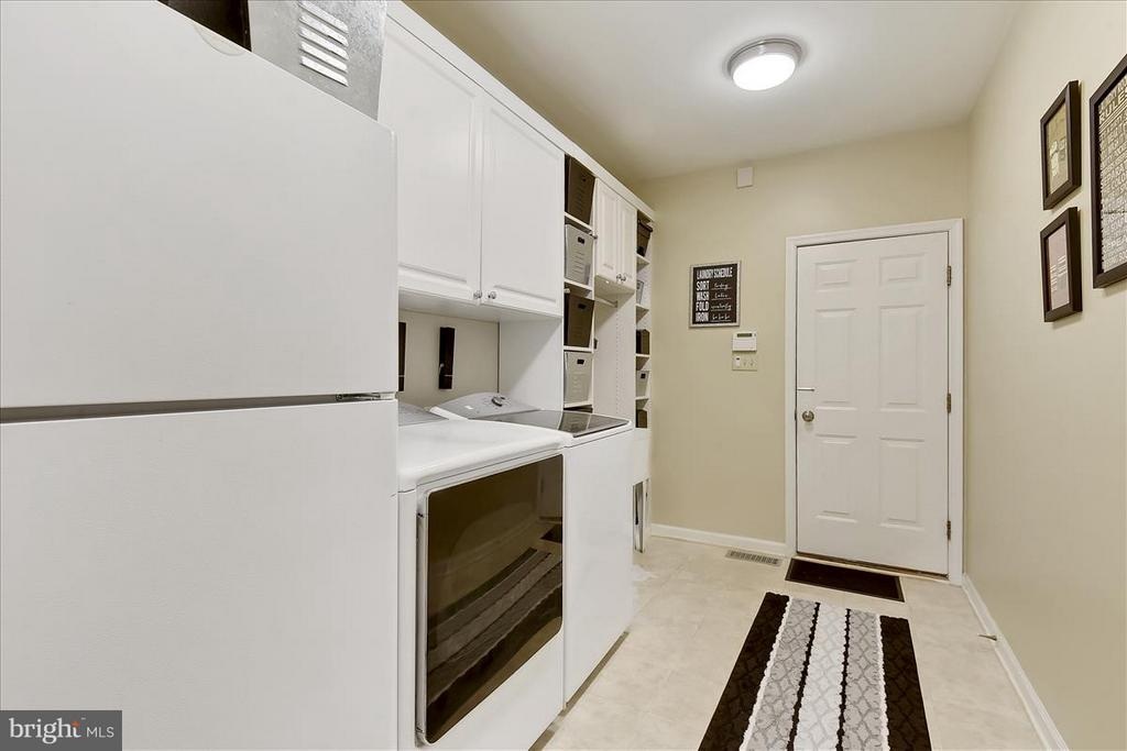Main level Laundry Room - 1501 DADE LN, ALEXANDRIA
