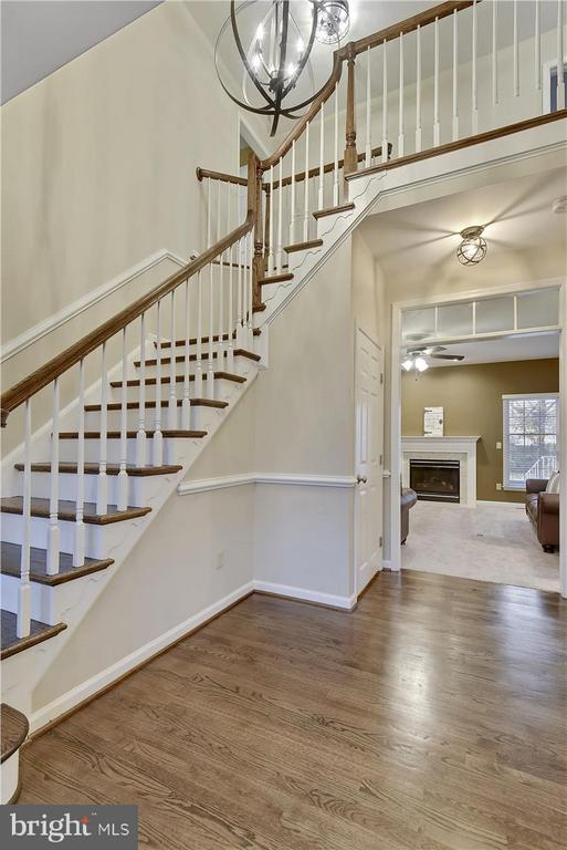 Main level Stairs - 1501 DADE LN, ALEXANDRIA