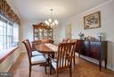Dinning Room - 4918 KING DAVID BLVD, ANNANDALE