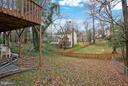 Back yard - 4918 KING DAVID BLVD, ANNANDALE