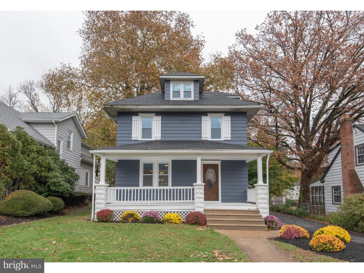 Single Family Home for Sale at 409 2ND Avenue Haddon Heights, New Jersey 08035 United StatesMunicipality: Haddon Heights