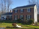 Front exterior - 9100 MEADOW RUE LN, ANNANDALE