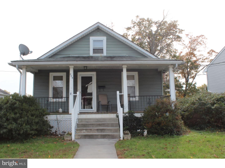Частный односемейный дом для того Продажа на 224 E WASHINGTON Avenue Magnolia, Нью-Джерси 08049 Соединенные Штаты