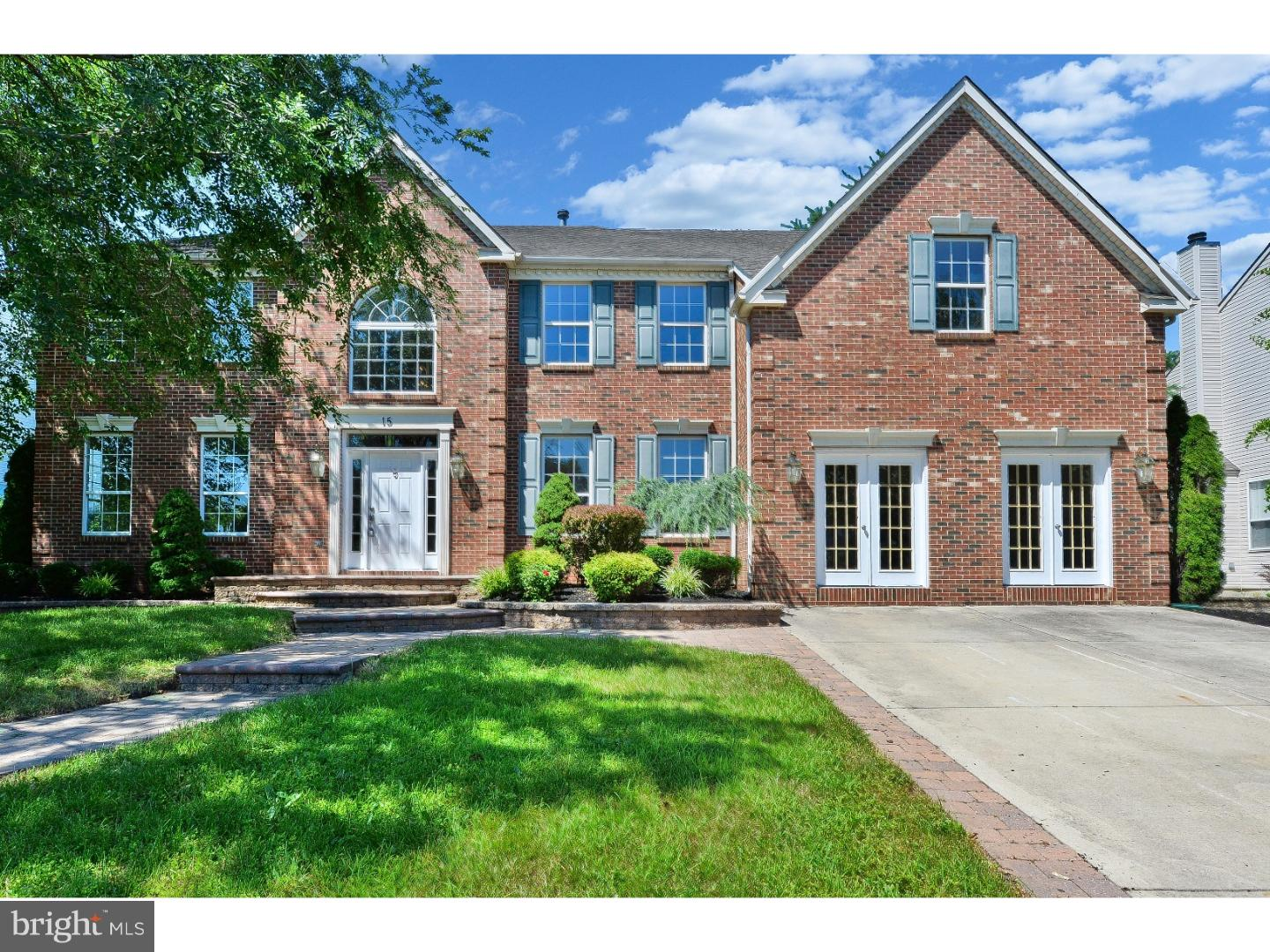 Single Family Home for Sale at 15 BANCROFT Lane Hainesport, New Jersey 08036 United States