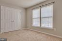 Guest Bedroom with huge closet - 15333 TINA LN, WOODBRIDGE