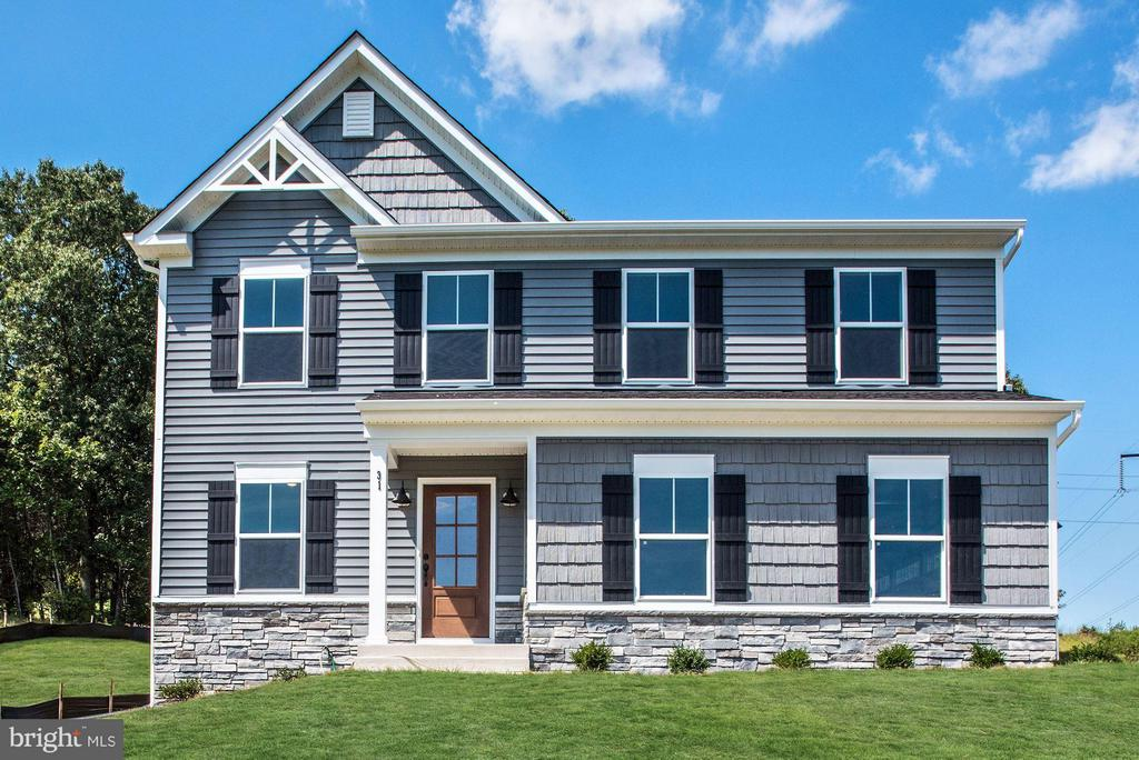 Gorgeous Siding and Stone Elevation. - WOOD LANDING RD, FREDERICKSBURG
