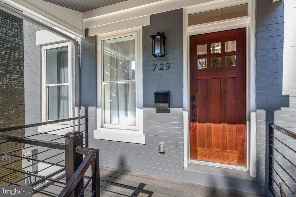 Incredible curb appeal--Welcome Home! - 729 HARVARD ST NW, WASHINGTON