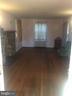 Dining room with fireplace - 4417 13TH PL NE, WASHINGTON