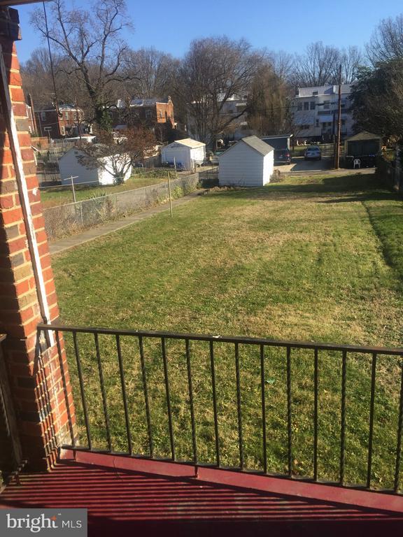 View from livingroom - 4417 13TH PL NE, WASHINGTON