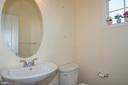 Main Level Half bath - 7705 RIDGEPARK CT, SPRINGFIELD