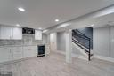 Basement with kitchenette/wet bar - 621 LONGFELLOW ST NW, WASHINGTON