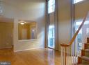 Two-Story Foyer with Hardwoods. - 21844 WESTDALE CT, BROADLANDS