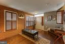Exposed brick, hardwood floors, designer paint - 1456 TRAFALGAR LN, FREDERICK