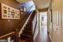 Gallery hall with designer paint to upper level - 1456 TRAFALGAR LN, FREDERICK