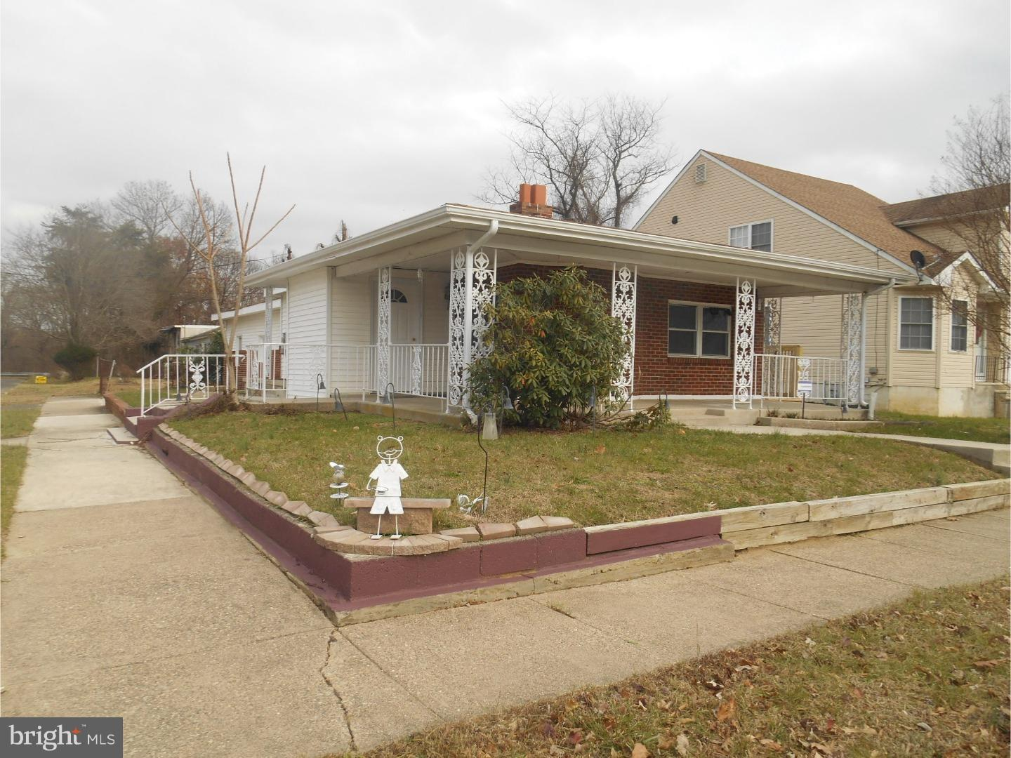 Single Family Home for Sale at 113 TILLMAN Street Lawnside, New Jersey 08045 United StatesMunicipality: Lawnside