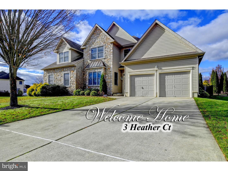 Частный односемейный дом для того Продажа на 3 HEATHER Court Mansfield Township, Нью-Джерси 08022 Соединенные Штаты