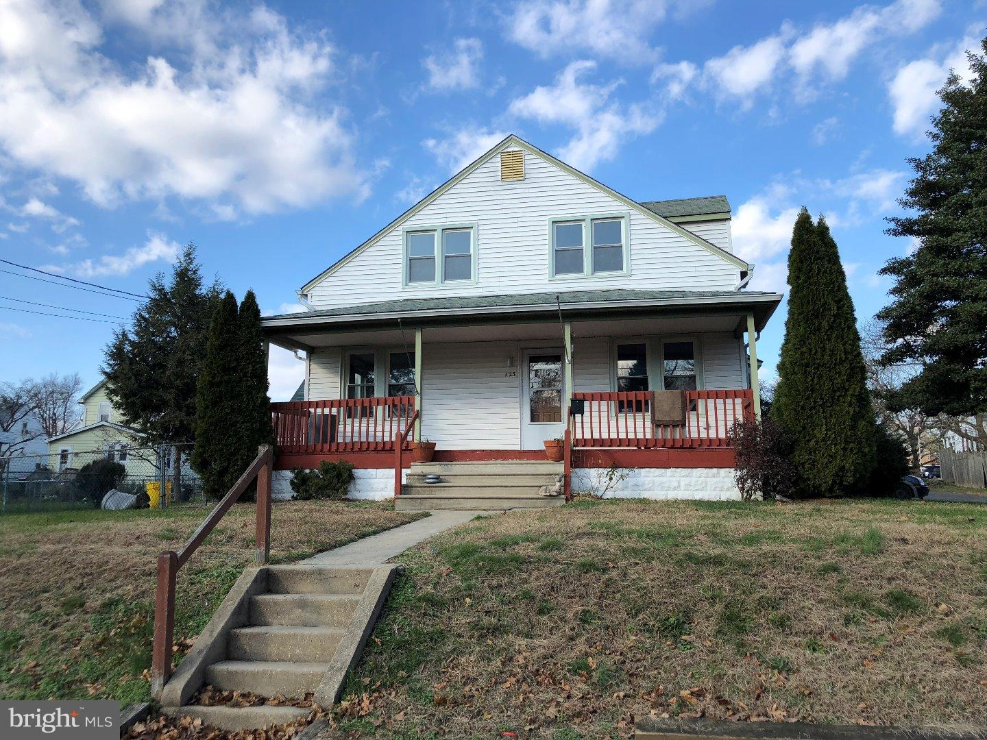 Single Family Home for Sale at 123 4TH Avenue Glendora, New Jersey 08029 United States