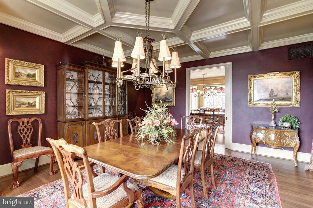 Dining Room - 10015 HIGH HILL PL, GREAT FALLS