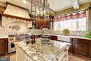 Custom Kitchen - 10015 HIGH HILL PL, GREAT FALLS