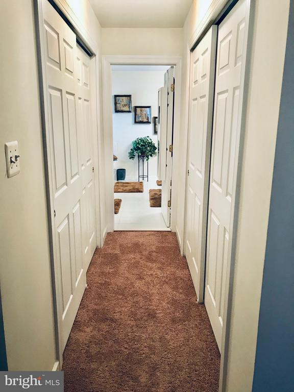 Closets line BOTH sides of hall to Master Bath - 4157 AGENCY LOOP, TRIANGLE