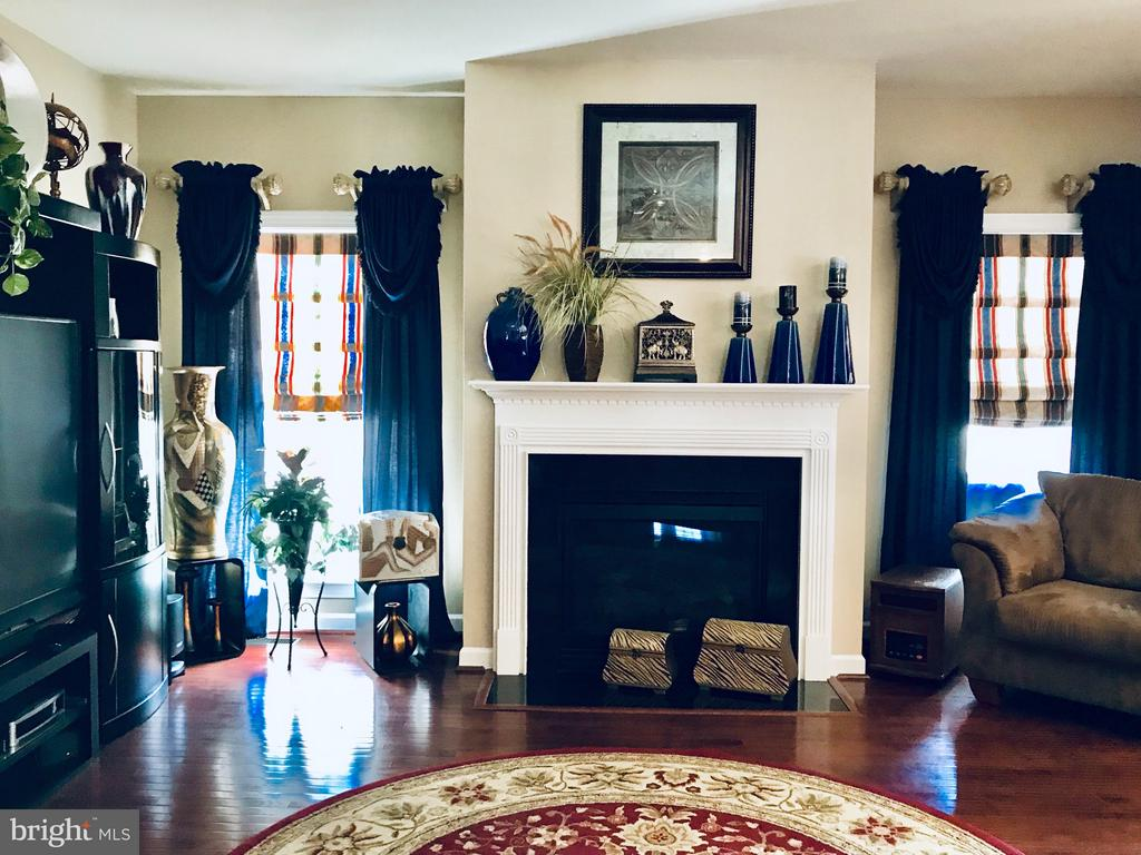 Family room with gas fireplace - 4157 AGENCY LOOP, TRIANGLE