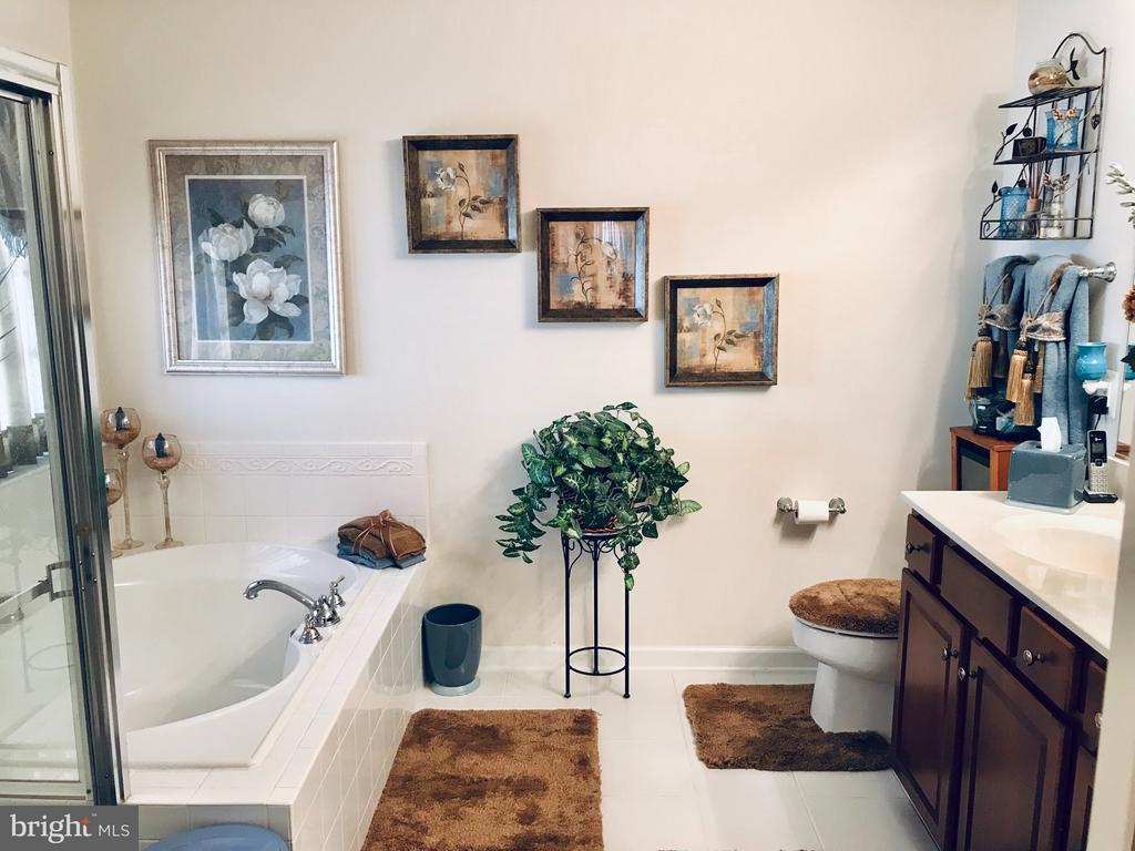 Large and bright Master Bathroom with soaking tub - 4157 AGENCY LOOP, TRIANGLE