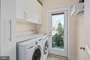 Main level laundry room with ample storage. - 2203 N 19TH CT, ARLINGTON
