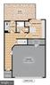 Floor plan: Main, ground level with 2-car garage. - 2203 N 19TH CT, ARLINGTON