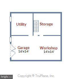 Lower level Floorplan - 17945 BOWIE MILL RD, ROCKVILLE