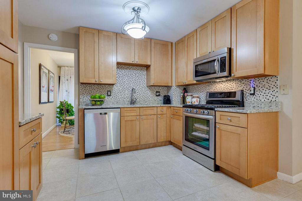 Tons of counter space - 4933 CASIMIR ST, ANNANDALE