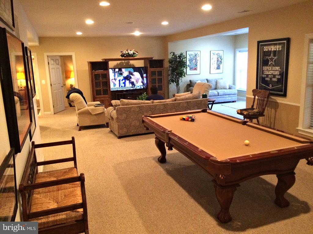 Game room, recreation room, walkout sitting area - 42596 IRON BIT PL, CHANTILLY