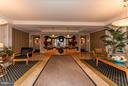 Front Lobby - 500 BELMONT BAY DR #416, WOODBRIDGE