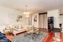 Living/Dining Room - 500 BELMONT BAY DR #416, WOODBRIDGE