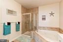 Master Bathroom with Shower and Soaking Tub - 500 BELMONT BAY DR #416, WOODBRIDGE