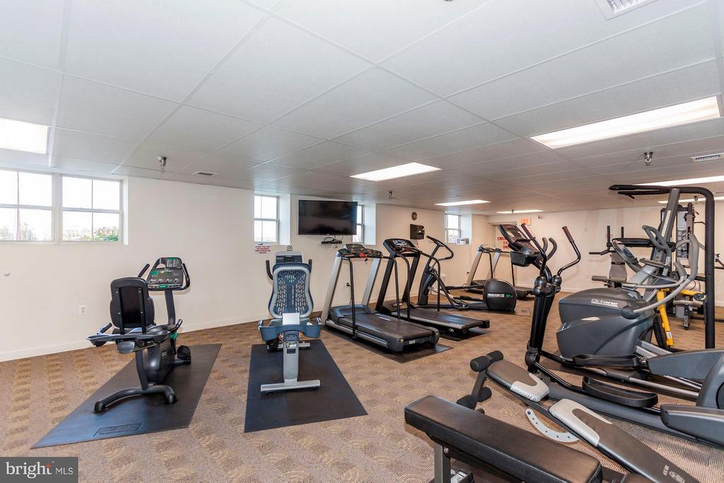 Fitness Room - 500 BELMONT BAY DR #416, WOODBRIDGE
