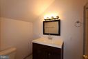 Full  Newly Renovated Bath in Upper  Bedroom - 1915 ANDERSON RD, FALLS CHURCH