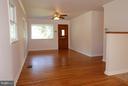 Front Door; Non Load Bearing Wall to Right! - 1915 ANDERSON RD, FALLS CHURCH