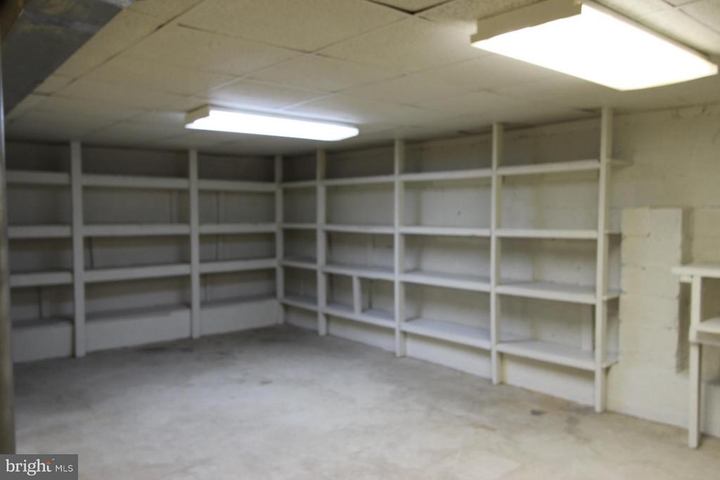 Tons of Storage Available in Walk Up Basement - 1915 ANDERSON RD, FALLS CHURCH