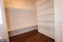 Walk In Closet with Unique Feature:)) - 1915 ANDERSON RD, FALLS CHURCH